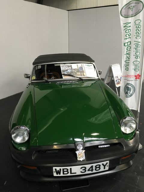 Don Hayter's MGB V8 won 'best in show'