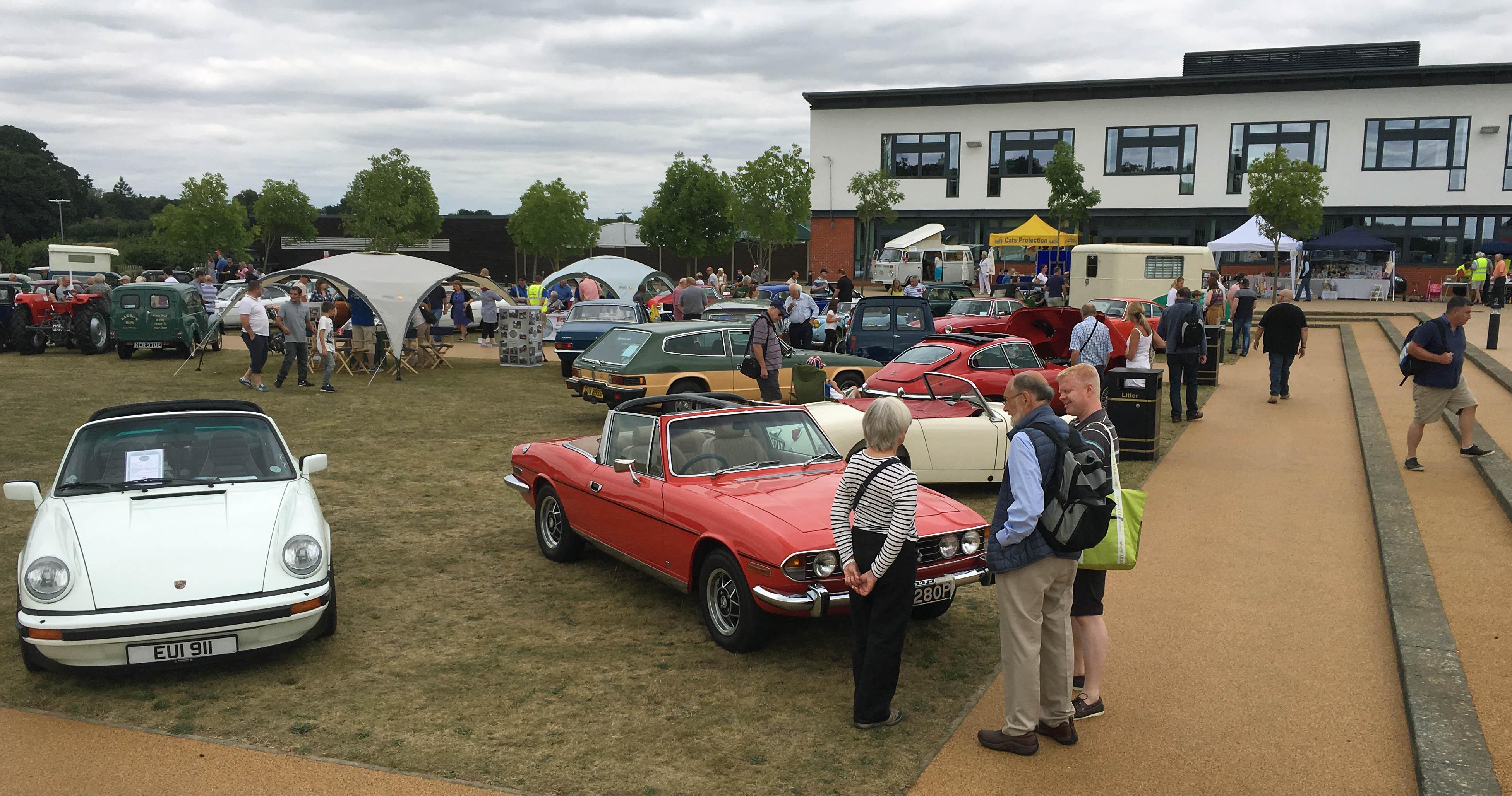 Gallery - West Berkshire Classic Vehicle Club